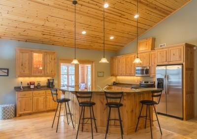 Horseshoe Lake Home - Kitchen